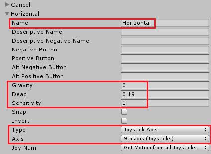 ユニティちゃんRPGの左右キーの設定