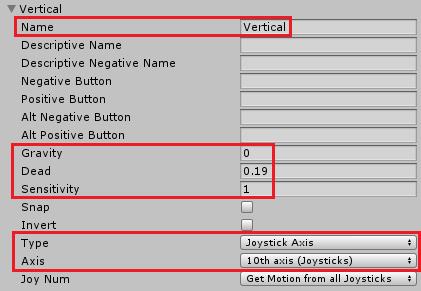 ユニティちゃんRPGの上下方向の設定を追加