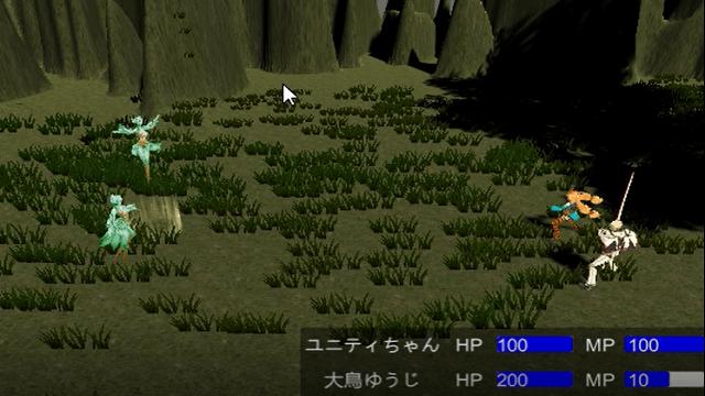 アイキャッチユニティちゃんのRPGで敵のターンの作成