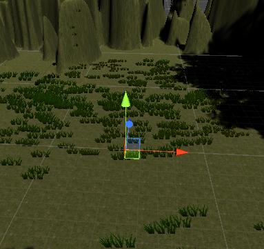 ユニティちゃんRPGの戦闘フィールドでキャラクターを配置する場所