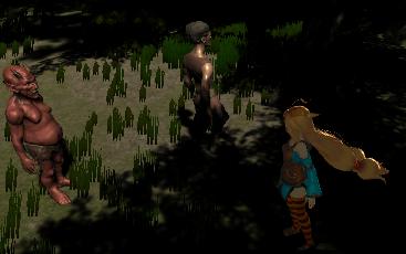 ユニティちゃんRPGのユニティちゃんのマテリアルのShadow Colorを変更して試した結果