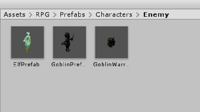アイキャッチユニティちゃんのRPGで戦闘時の敵のステータスデータを作成する