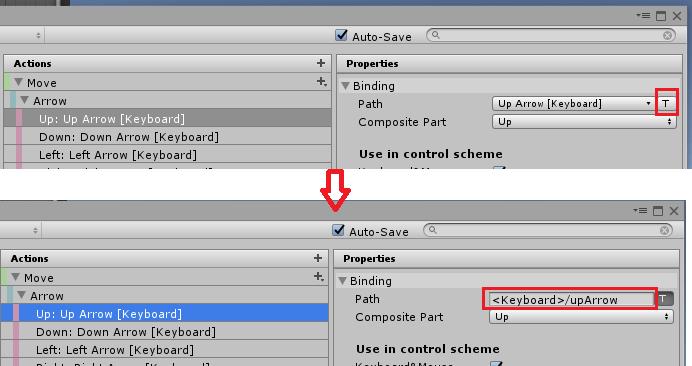 UnityのInputSystemのバインドの表示を変える