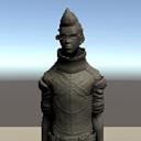 キャラクター選択ボタン用のサンプルキャラクター画像1
