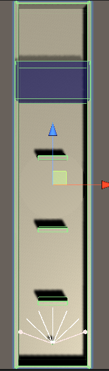 模倣学習用の舞台の全体図