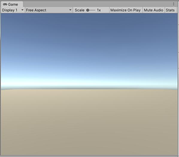 SimpleActionGameのシンプルな床をGameシーンで見てみる