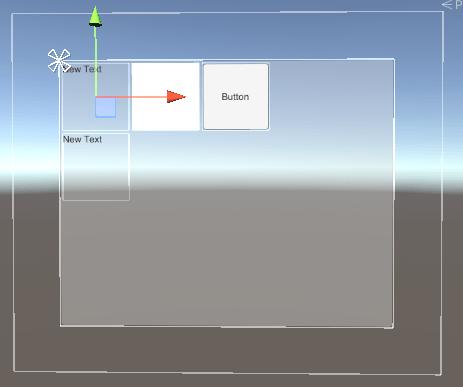 Grid Layout Groupの設定をしたサンプル