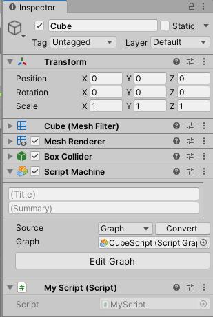 Visual Scriptingで自前のスクリプトの実行をしてみる