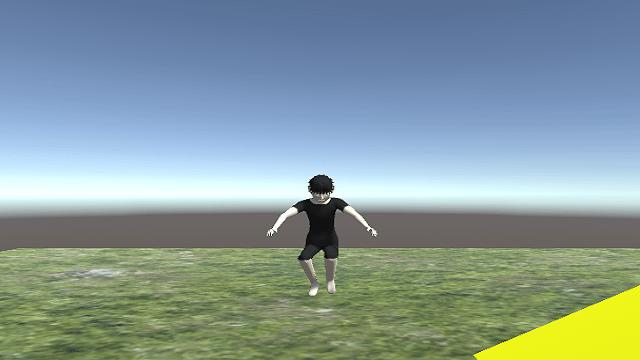 アイキャッチジャンプアップから着地までジャンプアニメーションを変更する