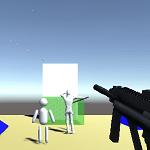 Unityのアクションゲームで物理的な弾を飛ばして敵との当たり判定をする