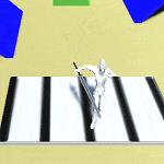 Unityのゲームで上下に動く床、ベルトコンベアーを作成する