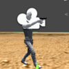 FPSを作ってみよう9-上半身のアニメーションだけ変更する-