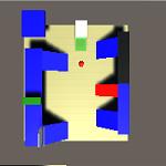 Unityのゲームでキャラクターの動きを追うレーダーカメラを作成する