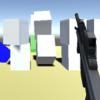 Unityで弾が当たったゲームオブジェクトの周りにも力を加える