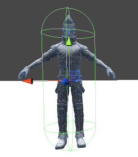 CharacterControllerの設定値を調整した結果