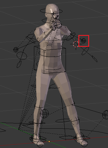 GunIdleのアニメーション