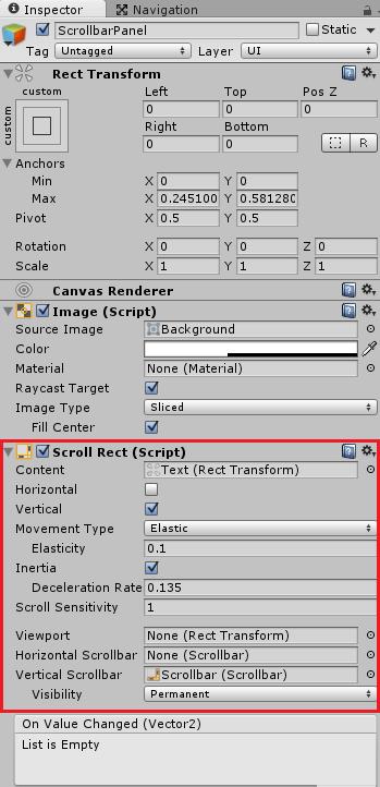 ScrollBarPanelにScroll Rectを追加