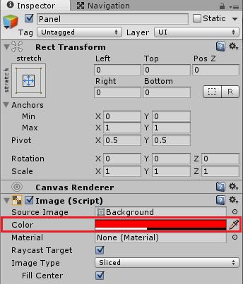 Open2のフレーム1でStatusWindow2の子要素のPanelの色を変更する